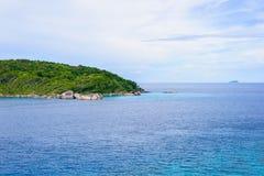 Tropical beach, Similan Islands Stock Image