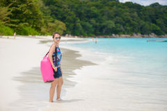 Tropical beach, Similan Islands, Tachai island, Andaman Sea,Thai Stock Photos