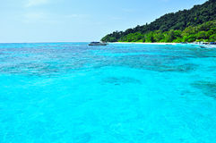 Tropical beach Similan Islands, Thailand. Similan island, clear blue sea in summer Thailand Royalty Free Stock Image