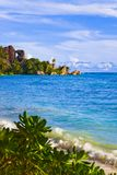Tropical beach Source D'Argent at Seychelles Royalty Free Stock Image