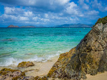 The Tropical Beach Royalty Free Stock Photography