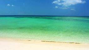 Tropical beach in sunny day on the island. Footage stock video footage