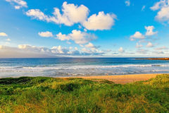 Tropical beach and sunset in Maui. Stock Photography