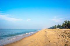 Tropical beach taken in mararikulam. India, Kerala Stock Images