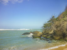 Tropical Beach of Tayrona National Park Royalty Free Stock Photography