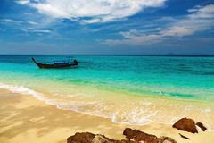 Tropical beach, Thailand Royalty Free Stock Photography