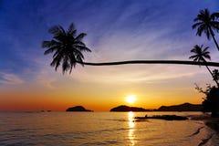 Tropical beach, Thailand. Tropical beach, Mak island, Thailand Royalty Free Stock Image