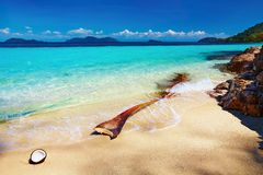 Tropical beach, Thailand Royalty Free Stock Photo