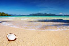 Tropical beach, Thailand Stock Image