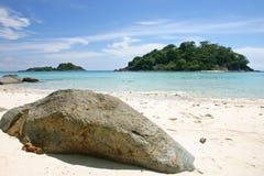 Tropical Beach, Thailand. Tropical Beach, Eastern in Thailand Stock Photo