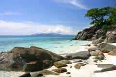 Tropical Beach, Thailand. Tropical Beach, East of Thailand Stock Photography