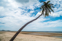 Tropical beach in Thailand. Beautiful view of Tropical beach in Thailand Stock Photography