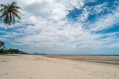 Tropical beach in Thailand. Beautiful view of Tropical beach in Thailand Royalty Free Stock Photography