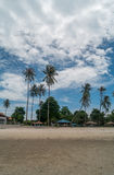 Tropical beach in Thailand. Beautiful view of Tropical beach in Thailand Royalty Free Stock Photo