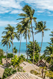 Tropical beach in Thailand. Beautiful view of Tropical beach in Thailand Royalty Free Stock Photos
