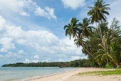 Tropical beach in Thailand Royalty Free Stock Photography