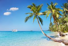 Tropical beach, Thailand Stock Images