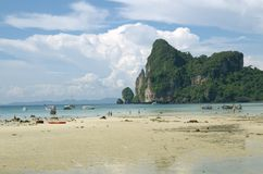 Tropical beach in Thailand Stock Image