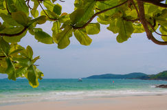 Tropical beach in Thailand Stock Photography