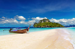 Tropical beach, Thailand Royalty Free Stock Image