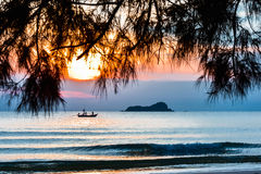 Tropical beach in Thailand Royalty Free Stock Image