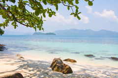 Tropical beach in Thailand Stock Photo
