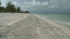 Tropical Beach Time Lapse. Time Lapse of  a beach on Captiva Island, Florida.   Shot with a Sony EX3 stock video footage