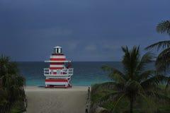 Tropical Beach twilight Royalty Free Stock Photography