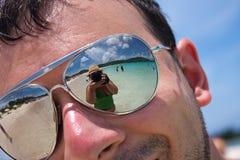 Tropical Beach Vacation Stock Photo