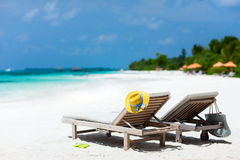 Tropical beach vacation Stock Photography