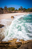 Tropical beach - vacation nature background on Koh Royalty Free Stock Photography