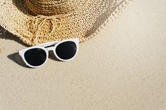 Tropical beach on vacation time, Summer concept royalty free stock image