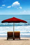 Tropical Beach Vacation Royalty Free Stock Images