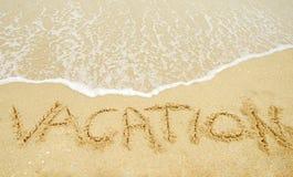 Tropical beach vacation Royalty Free Stock Photo