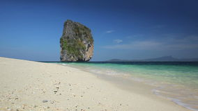 Tropical beach. Video of tropical beach in Thailand stock footage