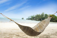 Tropical Beach View Stock Image