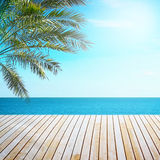 Tropical beach view Stock Photo