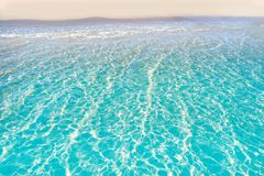 Tropical beach water transparent clear stock photos