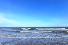 Tropical beach wave Stock Photos