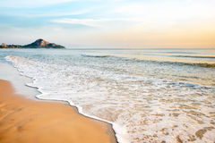 Tropical beach wave Royalty Free Stock Photo