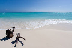Free Tropical Beach With White Sand Stock Photography - 53421642