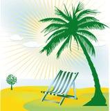 Tropical beauty spot Stock Image