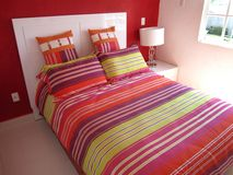Tropical Bedroom Stock Photos