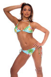 Tropical Bikini Model stock photo