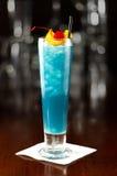Electric blue lemonade Stock Image
