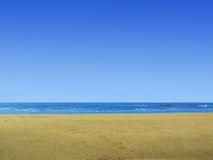 Tropical blue sea Royalty Free Stock Image