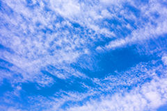 Tropical  Blue Sky Cloud, abstracted cloud Background, skyscape Royalty Free Stock Image
