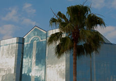 Tropical Blues - Chase Building Sarasota Florida Royalty Free Stock Photo