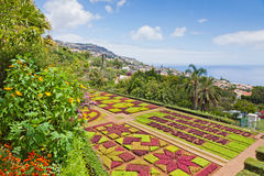 Tropical Botanical Garden in Funchal, Madeira island, Portugal Stock Photography