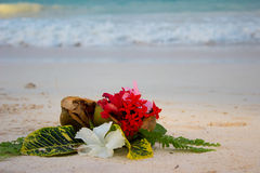 Tropical bouqet Stock Photography